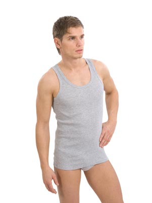 Men's underclothing wide strip