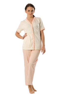 Ladies' pyjamas short sleevee