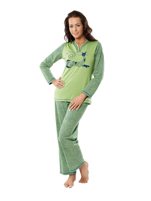 Ladies' pyjamas long sleeve