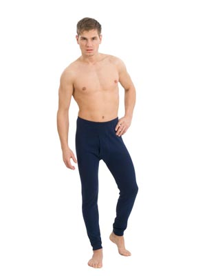 Men's drawers long pants interlock