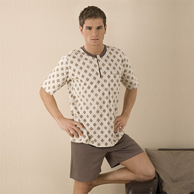 Men's pyjamas short sleeve