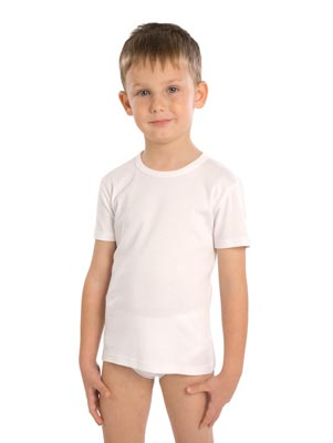Children's undershirt short sleeve