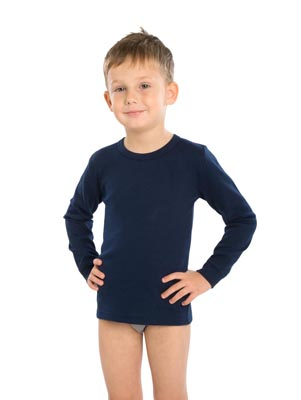 Children's undershirt long sleeve