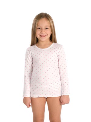 Girl's undershirt long sleeve