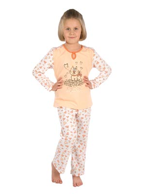 Girl's pyjamas long sleeve