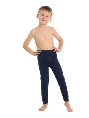 Boy's drawers long pants interlock
