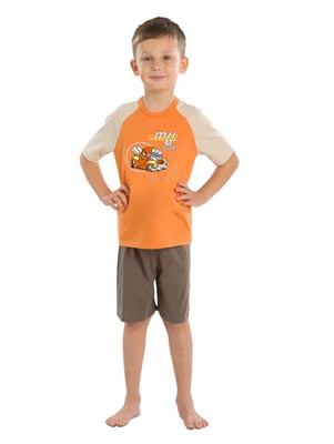 Boy's pyjamas short sleeve
