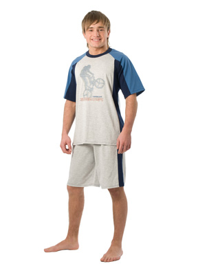 Teen-age pyjamas short sleeve